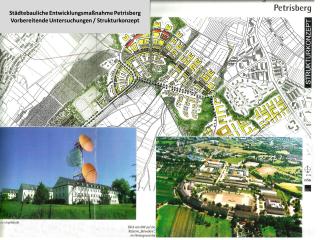 Städtebauliche Entwicklungsmaßnahme Petrisberg - Strukturkonzept 1999