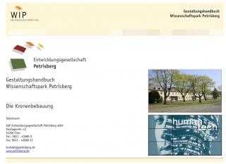 Gestaltungshandbuch Wissenschaftspark