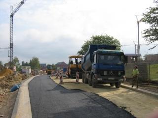 Straße »Auf dem Petrisberg« wird asphaltiert