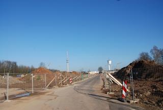 Neue Baustraße eröffnet