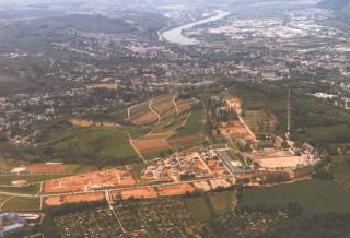 Luftaufnahme Petrisberg Mai 2005