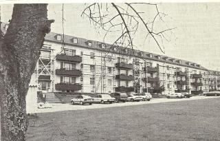 Wohnblock in der Siedlung »Auf der Bausch« 1993
