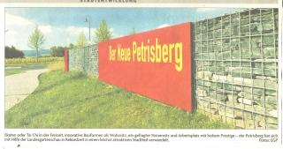 Wegweisung Petrisberg