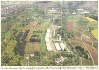 Luftbild Petrisberg-Rücken aus Süden