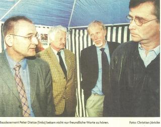 Treffen zur Information über Trasse Petrisberg