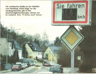 Avelsbacher Straße - Nadelöhr