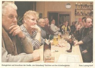 Diskussion Kleingärtner Grüneberg