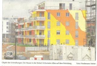 Farbgestaltung Gebäude Robert-Schumann-Allee