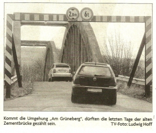 Zementbrücke