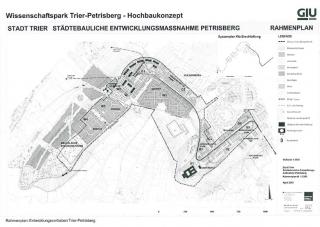 Rahmenplan - Wissenschaftspark